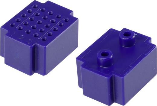 Dugaszolós próba panel, kék, 25 pólus, 20 x 15 mm Tru Components