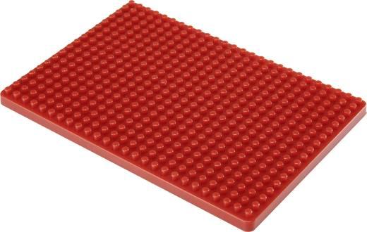 Dugaszolós próba panel, piros, 468 pólus, 132 x 92 mm Conrad