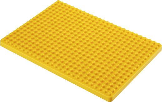 Dugaszolós próba panel, sárga, 468 pólus, 132 x 92 mm Conrad