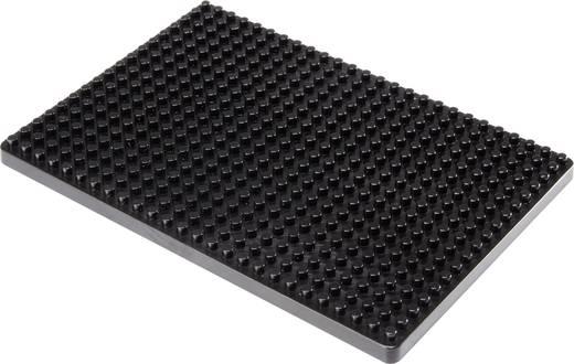 Dugaszolós próba panel, fekete, 468 pólus, 132 x 92 mm Conrad