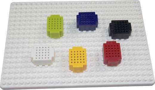 Dugaszolós próba panel, piros, 25 pólus, 20 x 15 mm Tru Components