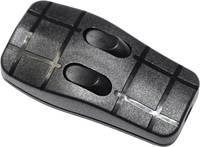 Zsinórkapcsoló, 2 x ki/be 2A, fekete, Tru Components 757-BK Conrad Components