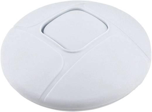 Vezetékbe iktatható zsinórkapcsoló, 1 x ki/be 2A, fehér, Tru Components 777-WT
