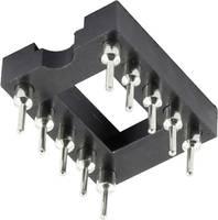 IC foglalat, 4 pól., RM 7,62, magasság: 7,4 mm, Tru Components (1371847) TRU COMPONENTS
