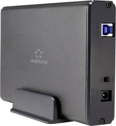 """SATA/IDE merevlemez ház 3,5"""" renkforce HDA301JSP USB 3.0"""