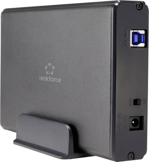 """SATA merevlemez ház 3,5"""" renkforce HDA301J3P USB 3.0"""