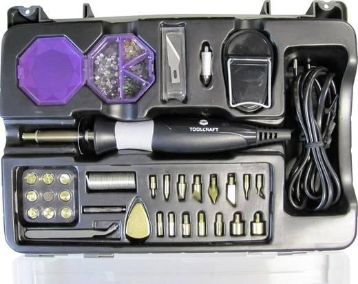 Forrasztópáka készlet, piropáka készlet TOOLCRAFT KK-07025WD-2000