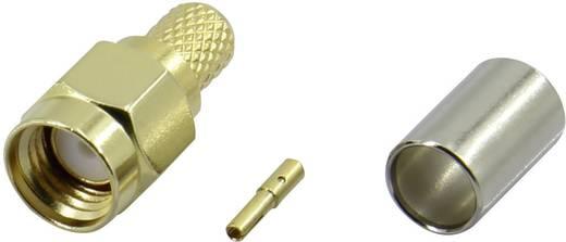 Krimpelhető, lengő SMA alj, egyenes 50 Ω Tru Components SMA-JC-RG58-2