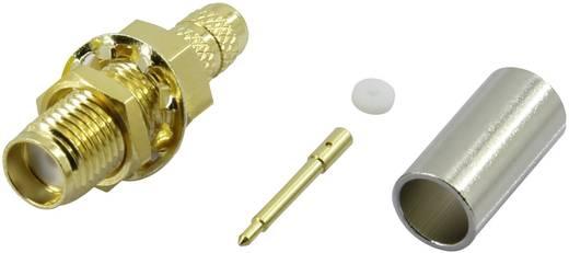 Krimpelhető, lengő SMA dugó, egyenes 50 Ω Tru Components SMA-KC-RG58-2