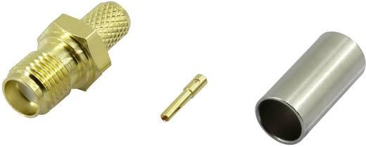 SMA lengő alj, egyenes 50 Ω Tru Components SMA-KC-RG58-1
