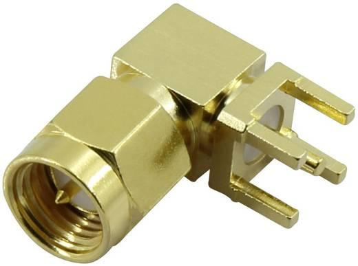 SMA beépíthető dugó, vízszintes 50 Ω Tru Components SMA-KWE