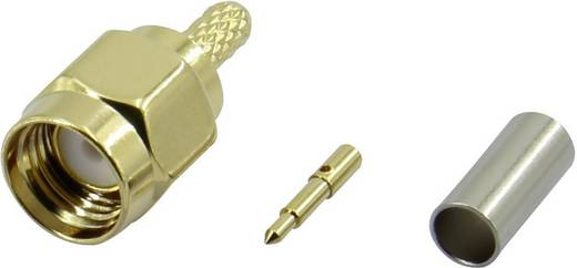 SMA lengő dugó, egyenes 50 Ω Conrad SMA JC RG174-2