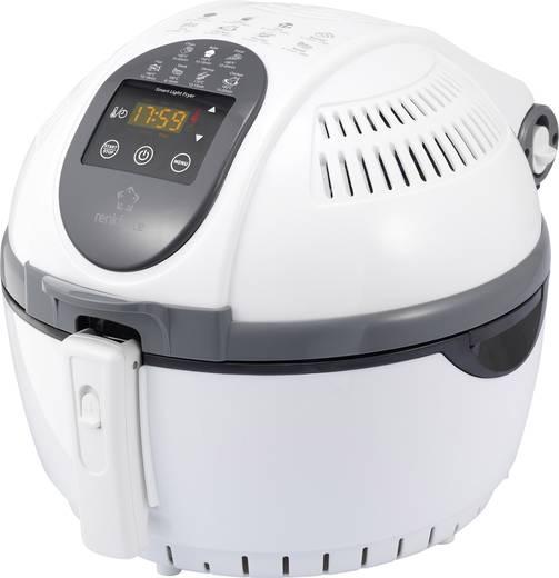 Forrólevegős fritőz 1400 W, fehér, renkforce ZD1406