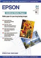 Fénykép papír Epson Archival Matte Paper C13S041342 DIN A4 192 g/m² 50 lap Matt (C13S041342) Epson