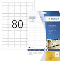 Etikettek, A4, 35,6x16,9 mm, fehér, 2000 db, Herma 10901 (10901) Herma