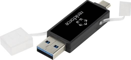 USB-s kártyaolvasó, okostelefonhoz, tablethez Renkforce OTG302