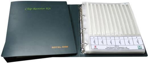 Vasagréteg ellenállás készlet SMD 0603 0.2 W 5 % Royalohm HP03W5JE012KIT 6100 Parts