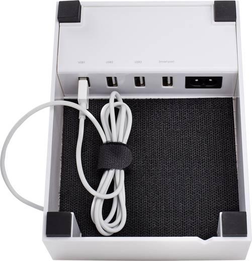 USB-s dokkolós töltőállomás, max. 4500 mA, 4 USB, Audiosonic PB-1726