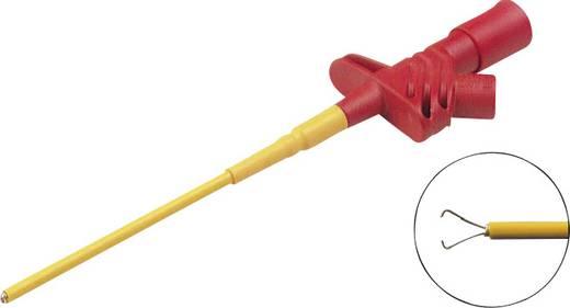 Szigetelt griffcsipesz, mérőcsipesz 1000V-ig szigetelt 4mm-es banándugó aljzattal, piros SKS Hirschmann KLEPS 2600