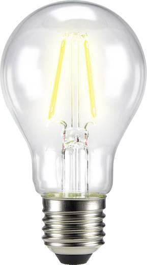 LED izzó, körte forma, 105 mm 230 V E27 4 W = 40 W melegfehér A++, sygonix