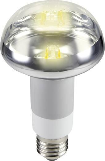 LED izzó, reflektoros, dimmelhető, 135 mm 230 V E27 2 W = 25 W melegfehér A+, sygonix