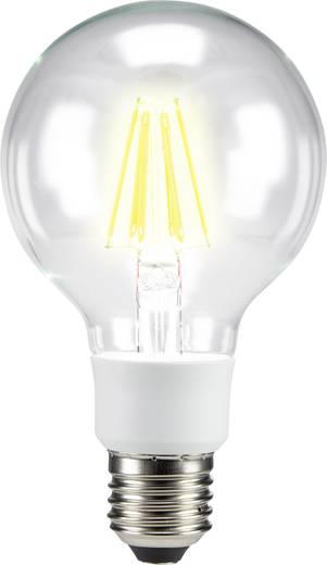 LED izzó, gömb forma, 137 mm 230 V E27 7 W = 60 W melegfehér A++, sygonix