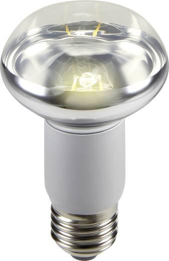 LED izzó, reflektoros, 100 mm 230 V E27 2 W = 25 W melegfehér A+, sygonix