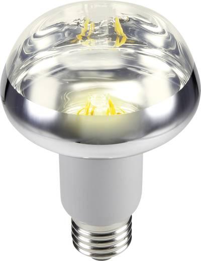 LED izzó, reflektoros, 117 mm 230 V E27 5,5 W = 42 W melegfehér A, sygonix