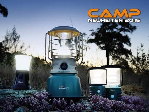 LED-es kemping lámpás, elemes, 404 g, fekete-zöld, LiteXpress Camp 32 LXL909078B