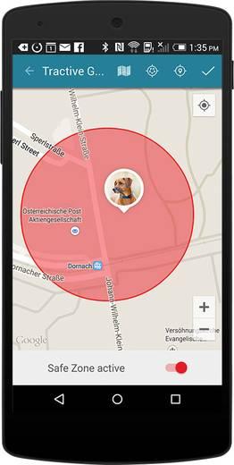 GPS helymeghatározó állatok számára, Tractive