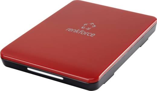 """SATA merevlemez ház 2,5"""" piros renkforce HD219UAS USB 3.0"""