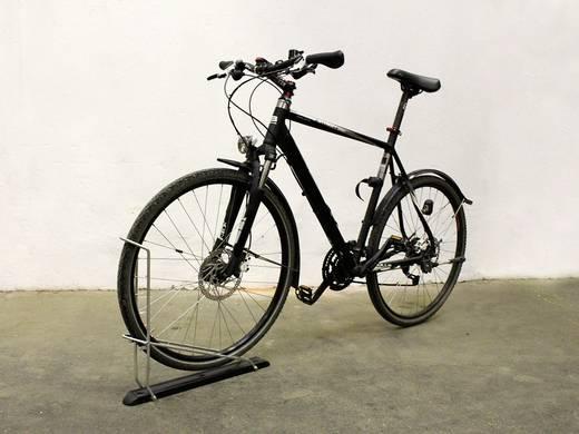 Fali kerékpártartó, alumínium/acél, ezüst/fekete, Eufab 16402