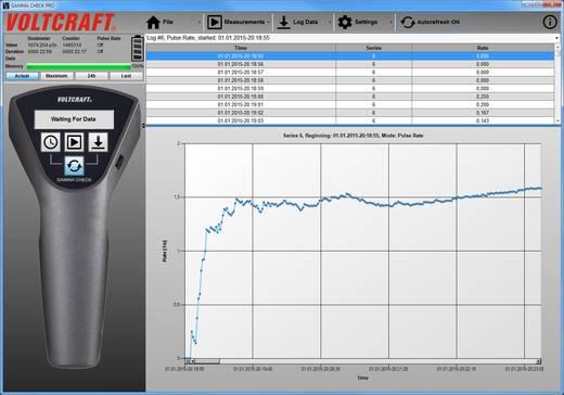 Sugárzásmérő Geiger Müller számláló radioaktivitás mérő Voltcraft Gamma-Check-Pro