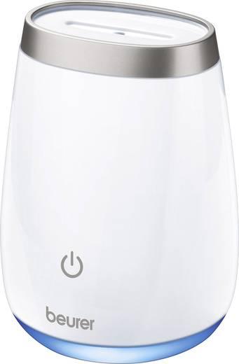 Aromaterápiás párásító, légnedvesítő, 15 m² 12 W, fehér Beurer LA 50