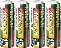 Ceruza akku AA, NiMH, 1,2V 2600 mAh, 4 db, Conrad Energy Endurance LR06, AA, LR6, AAB4E, AM3, 815, E91, LR6N (1377655) Conrad energy
