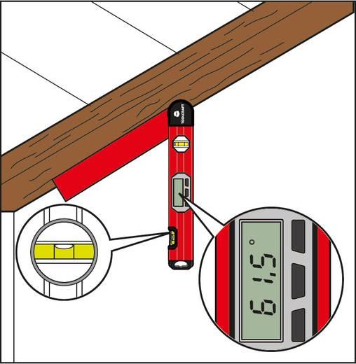 Elektronikus, LCD kijelzős szögmérő és vízmérték 0° - 220 °-ig Toolcraft TOOLCRAFT 1377960