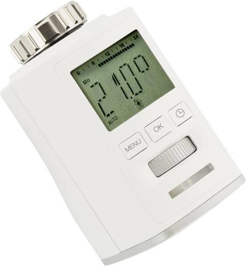 Programozható digitális radiátor termosztát 8…28 °C, Sygonix HT100