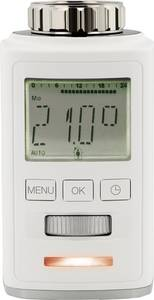 Vezeték nélküli, programozható digitális radiátor termosztát 8…28 °C, bluetooth, Sygonix HT100 BT Sygonix