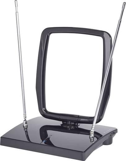 Aktív beltéri DVB-T antenna, 15 dB, fekete, Renkforce