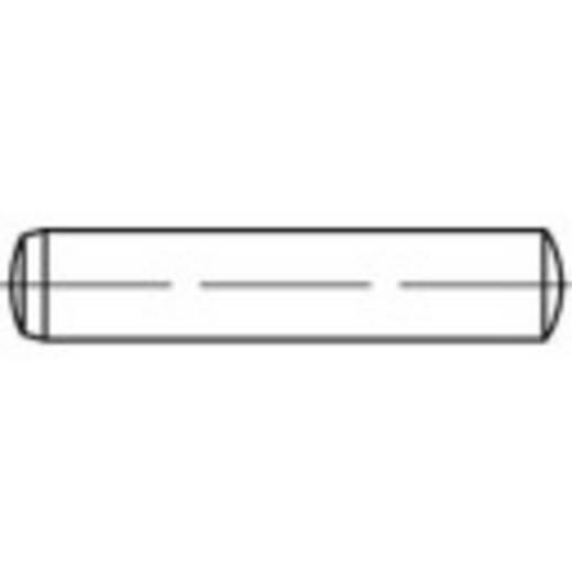 TOOLCRAFT Illesztő szegek DIN 6325 60 mm Edzett acél 10 db 138129