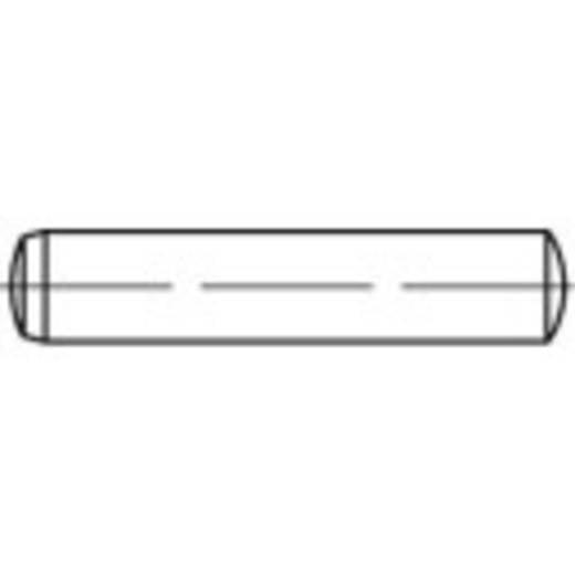 TOOLCRAFT Illesztő szegek DIN 6325 80 mm Edzett acél 50 db 138035