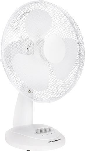Asztali ventilátor, 40 W, 30 cm, fehér, Basetech
