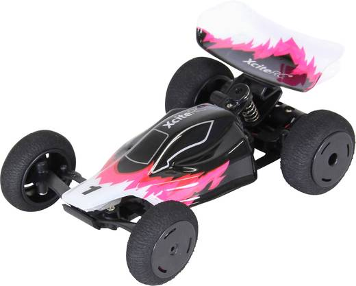 RC offroad Buggy modellautó, 2WD RtR 2.4 GHz 1:32 XciteRC High Speed Racebuggy