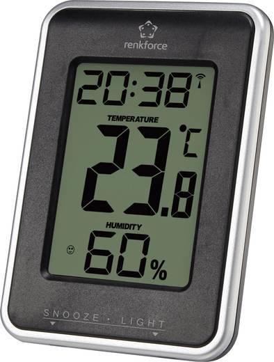 Digitális hőmérő és páratartalom mérő, renkforce E0109HR-3