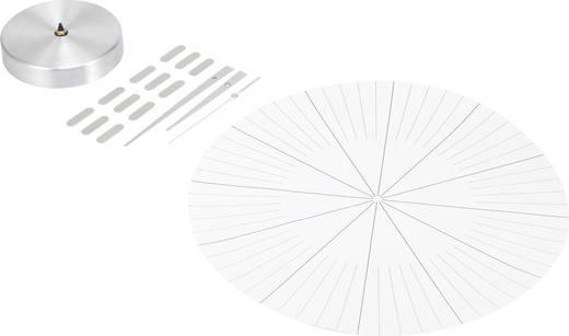 Analóg falióra 35 cm, ezüst, renkforce HD-WRC152 DCF SI