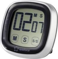 Rövid idejű Jumbo időzítő, visszaszámláló óra, 76 x 76 x 25 mm, renkforce Renkforce