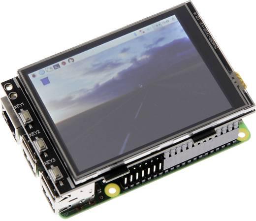 Raspberry Pi® 3 B modell, kijelző készlet 1 GB
