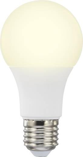 LED izzó, Basetech 230 V E27 10 W = 60 W Melegfehér EEK: A+ Körte forma, 10 db
