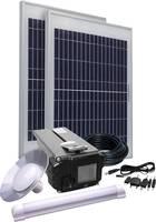 Napelemes készlet 20W, akkuval, kábellel és 2 db izzóval, Energy Comfort Solar Side Two 390957 Phaesun