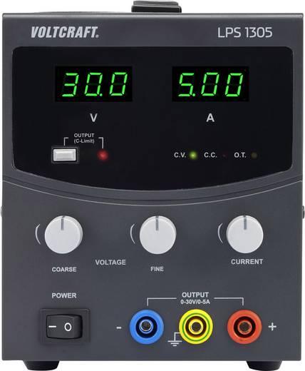 Szabályozható lineáris labortápegység 0 - 30 V/DC 0 - 5 A 150W VOLTCRAFT LPS1305